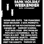 The Annual Merseyside Punk Rock Bank Holiday Weekender