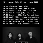 CUT - UK tour dates announced